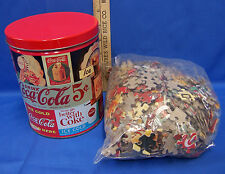 Collectable Coca Cola Coke Jigsaw Puzzle & Tin Case Vintage Designs Signs