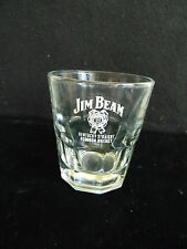 Jim Beam Kentucky Straight Burbon Whiskey Low Ball Glass