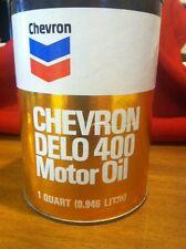 1 Quart Chevron Delo 400 Old School