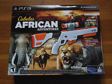 Cabela's African Adventures [Bundle] (Sony Playstation 3, 2013) *Factory Sealed*