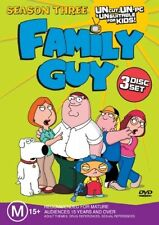 Family Guy : Season 3 (DVD, 2005, 3-Disc Set)