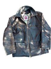 RST giaccone pelle/cuoio marrone scuro anni '80 raro taglia M