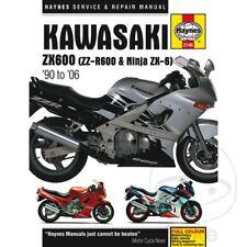 KAWASAKI ZZR 600 D 1992 Haynes Manual de reparación de servicio 2146