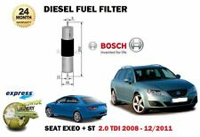 Pour Seat Exeo + ST 2.0 TDI CAGC CAGA caha 2008-12/2011 nouveau Carburant Diesel Filtre