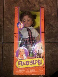 """BRAND NEW REBELDE GIRL """"MIA"""" DOLL RBD IN SCHOOL UNIFORM 16"""""""