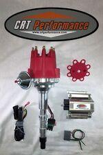 AMC V8 SMALL CAP HEI DISTRIBUTOR RED + 50K COIL 290 304 343 360 390 401 JEEP