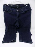 Nine West Jeans Cigarette Fit Skinny Leg Women's Size 6r/28