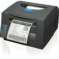 Citizen CL-S521, 8 Puntos/Mm (203 PPP), ZPL, Datamax, Doble Si, Negro
