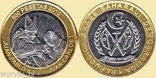 WEST SAHARA 2010 500 Pesetas John Paul II JP2 UNC Arabe Saharui Sahara Zachodnia