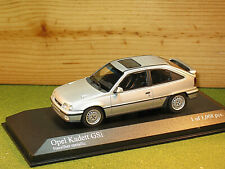 Minichamps 400 045972 Opel Kadett GSI / Astra 1989 in Silver Metallic 1/43rd