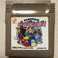 Parodius Da Nintendo Gameboy GAME BOY GB Japan Import US Seller! Tested! Works!