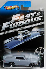 HOT WHEELS 2012 THE FAST AND THE FURIOUS '70 CHEVELLE SS DIE CAST CAR 5/8 RARE