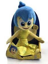 "TOMY Disney Pixar Inside Out  Joy 9"" Plush Doll, No Sounds Box Damaged"