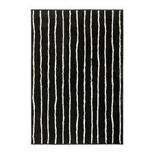 Ikea Gorlose Black/White Area Rug Carpet Low Pile