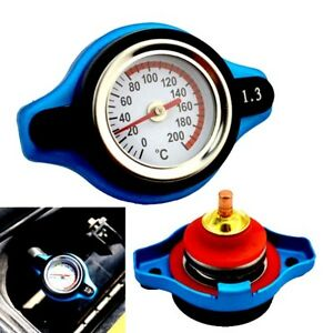 Spiffy 1.3Bar Thermo Thermostatic Radiator Cap Cover Water Temperature Gauge