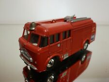 DINKY TOYS 276 FIRE ENGINE - AIRPORT FIRE CONTROL - RED 1:43? - GOOD CONDITION