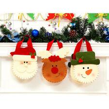 1Piece Christmas Gift Handbag Exquisite Candy Bag Felt Cloth Handmade Small Bag