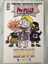 Mac Miller 11x17 Concert Poster Pittsburgh PA