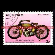 HARLEY DAVIDSON 1913 - VIET NAM - VIETNAM : Timbre Poste Moto