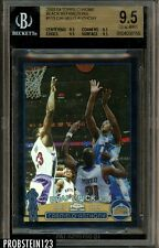 2003-04 Topps Chrome Black Refractor #113 Carmelo Anthony RC Rookie /500 BGS 9.5