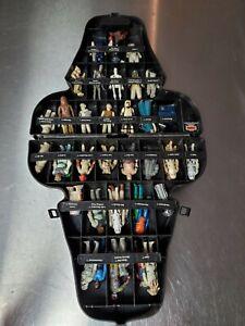 Vintage Star Wars Lot of 35+ Action Figures, Darth Vader Case, Kenner, Used