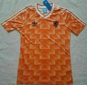 1988 Holland Netherlands Shirt Jersey Vintage Classic Football Soccer Retro Uk