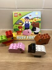 Lego Duplo 6759 Busy Farm Read & Build Bricks And Book Set