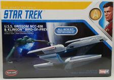 Polar Lights 957m Star Trek USS Grissom & Klingon Bird-of-prey Snap Kit
