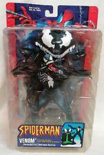 Spider-Man - * sin abrir * Classics S4 Venom Con Alien rezuman Base Figura Toy Biz 2002
