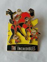 The Incredibles Family 2004 Trading Pin Disney Pixar Movie Animated Cartoon