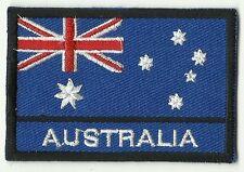 ECUSSON PATCH PATCHE THERMOCOLLANT DRAPEAU AUSTRALIE AUSTRALIA DIM. 7 X 5 CM