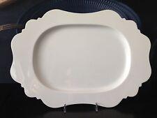 REICHENBACH Taste von Paola Navone Platte oval 35cm in weiß NEU!!!!