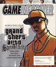 Gameinformer June 2004 GTA San Andreas w/ML VG 072916DBE