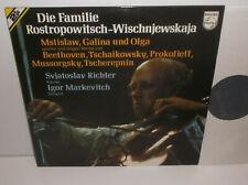 6780 751 Tchaikovsky Beethoven Prokofiev Rostropovitch Vishnevskaya Markevitch
