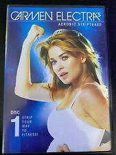 Carmen Electra's Aerobic Striptease, D1, Dvd.