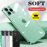 For iPhone 12 Pro/ 12 Mini/ 12 Pro Max Clear Case Soft Shockproof Crystal Cover