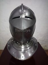 New Pig Faced Knight Helmet - re-enactment / larp / role-play / fancy