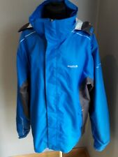 Regatta Mens Blue Waterproof Jacket/coat Xl Ex Condition