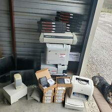 Large Lot of Surplus computer Equipment. Used Mixed Lot. Hp Laser Printers, etc