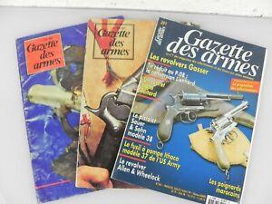 Lotto 3 Volumi GAZETTE DES ARMES armi militari Francese Collezione carabina da
