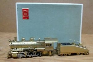 PENNSYLVANIA RR Class B6 0-6-0, OLYMPIA HO Scale BRASS TRAIN, NOS, c. 1969