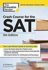 Crash Course for the Sat (College Test Prep) by Princeton Review | Paperback Boo