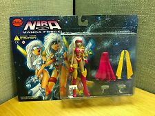 NIRA X: Magna Force Pink Variant Action Figure by Skybolt Toyz 1999 NEW