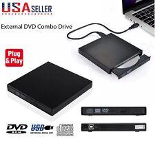 USB 2.0 Slim Protable PC External DVD Combo CD-RW Burner Drive CD±RW DVD ROM US