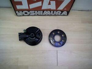 1989 Kawasaki GT 750 mint final drive gear hub cover - freshly powder coated!