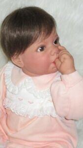 "Lee Middleton ""Cuddle Me"" 20"" infant by Reva Schick, precious"