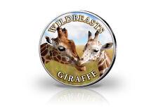 Krugerrand 1 Onza Moneda de Plata 2020 Sudáfrica Con Farbmotiv Jirafa