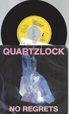 """7""""   Quartzlock – No Regrets  ++ NEWS"""