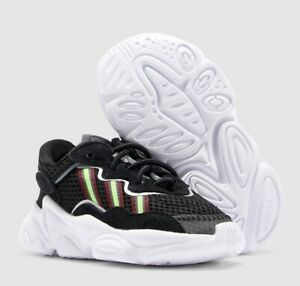 Adidas Originals Ozweego Kids Toddler Baby Boys Sneakers Shoes Casual Black NWB