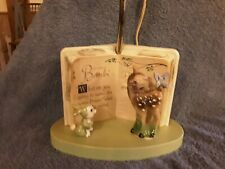 Vintage 1972 Bambi and Thumper Plastic Lamp Disney Dolly Toy Company WORKS